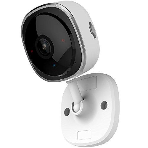 Jasal Smart Wireless WIFI 1080p HD Mini Hause Fischauge 180° Panorama IP Kamera, wird am Telefon, Pad, PC, Cloud-Speicher unterstützt, die für Senioren, Kinder, Wertsachen sicher für Geschäfte (Wifi Heim-telefon-mit)