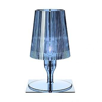 Kartell 9050bl take lampada da tavolo azzurro illuminazione - Amazon lampade da tavolo ...