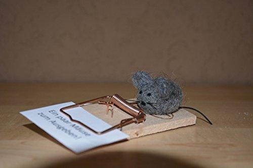 Geldgeschenk Mausefalle 'Ein paar Mäuse zum Ausgeben'