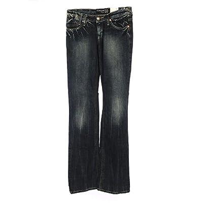 "FIRETRAP Jeans Faded Blue Low Bootcut Size W: 26"" / 34"" WP 1033"