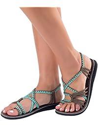 Essi Para Amazon Sandalias Mujer Vestir Zapatos De 8wnkx0op Yb6g7fy