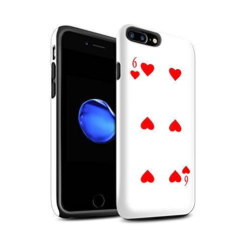 Coque Brillant Robuste Antichoc de STUFF4 / Coque pour Apple iPhone 4/4S / Joker Design / Cartes à Jouer Collection 6 de Cour