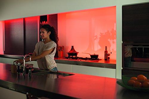 41Bn7g3vtlL [Bon Plan] Philips Hue Ruban Lumineux Lightstrip White And Color Ambiance de 2Mètres, Bande Flexible Lumineuse Contrôlée Par Smartphone - Lampe Led à Variation de Couleurs - Fonctionne avec Alexa