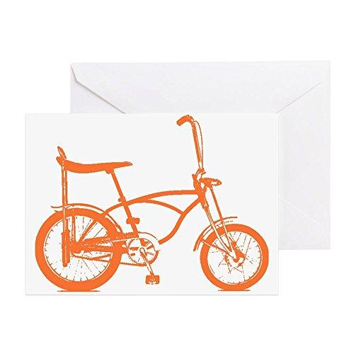 Orange Banana Sitz (CafePress–Orange Krate–Grußkarte, Note Karte, Geburtstagskarte, innen blanko, glänzend)