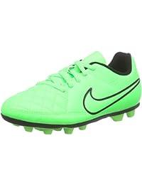 Nike JR Mercurial Vortex II TF bambino, pelle liscia, sneaker bassa, 32 EU