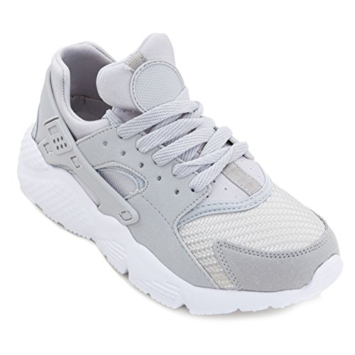 Toocool Sneakers Donna Scarpe Ginnastica Stringate Fitness Sport Corsa Palestra FT125-1B Grigio