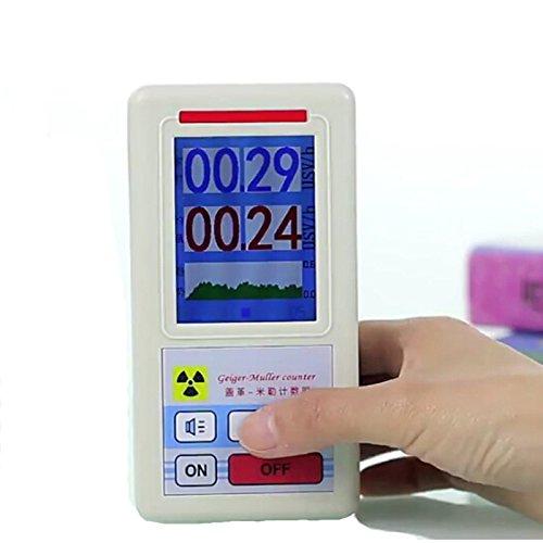 DyNamic Geiger-Zähler-nuklearer Strahlungs-Detektor-persönlicher Dosimeter-Marmor-Detektor-Kernstrahlungs-Prüfvorrichtung mit Bildschirm