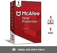 McAfee الحماية الكاملة (Windows / Mac / Android / iOS) - مستخدم واحد، سنة واحدة