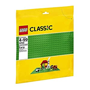 LEGO Classic Base Verde Extra per Costruzioni, Piattaforma 25 cm x 25 cm, 10700 LEGO