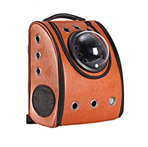 Dixon.Y Sac à dos Pet / Space Cabin Sac à bandoulière double / Chien et chien Voyage Sac à dos portatif / Pet Nest / Cortex Material , b