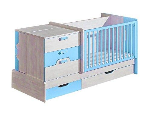 Mitwachsende babybett