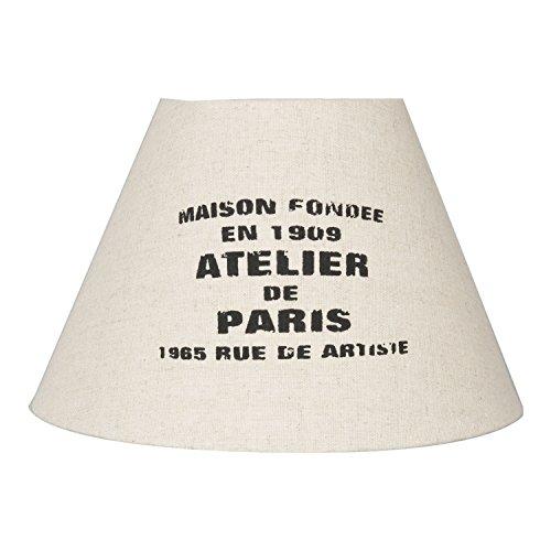 Clayre & Eef Romantik Lampenschirm beige ~ ATELIER DE PARIS ~