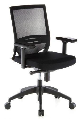 Hjh office 657230 sedia da ufficio sedia girevole porto for Sedia ufficio alta