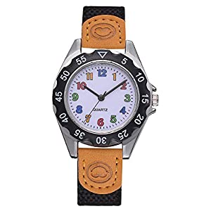 Cramberdy Kinder Armbanduhr Armbanduhr Jungen Armbanduhr MäDchen Armbanduhr Frauen Armbanduhr MäDchen Analoge Quarz Armbanduhr