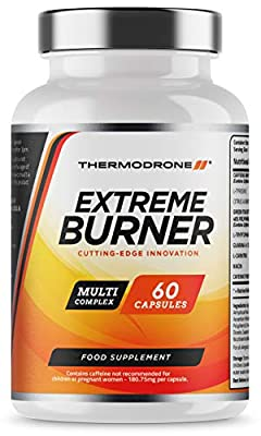 Fat Burners - Extreme Fat Burners for Men & Women - 60 Vegetarian Capsules - UK Manufactured - High Strength Premium Safe Legal Fat Burning Pills - Diet Pills that work fast - Vegetarian & Vegan Friendly – Bust Belly Fat Today – Order From A Trusted UK We
