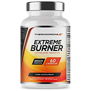 41BnFpao5kL. SS300  - Fat Burners - Extreme Fat Burners for Men & Women - 60 Vegetarian Capsules - UK Manufactured - High Strength Premium Safe Legal Fat Burning Pills - Diet Pills that work fast - Vegetarian & Vegan Friendly - Bust Belly Fat Today - Order From A Trusted UK Weight Loss Tablet Brand Thermodrone