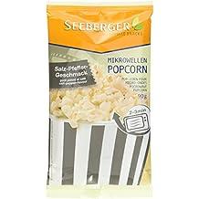 Seeberger Mikrowellen-Popcorn Pfeffer plus Salz, 25er Pack (25 x 90 g)