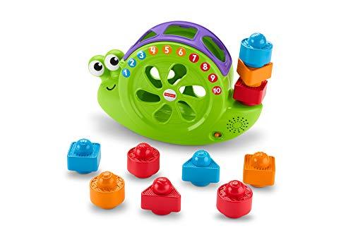 Fisher-Price Caracol formas y canciones, juguete para bebé...