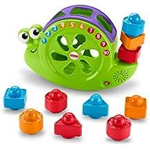 Fisher-Price Caracol formas y canciones, juguete para bebé +6 meses (Mattel
