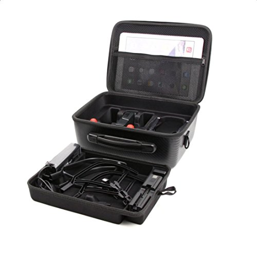 Xinxinyu { Doppeldeck Handheld tasche } Für DJI MAVIC AIR Accessories { Wasserdicht Handtasche Tragen Tasche } Schwarz