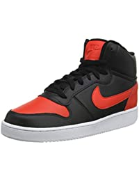 brand new 252ef b8136 Nike Men s Ebernon Mid Leather Basketball Shoes
