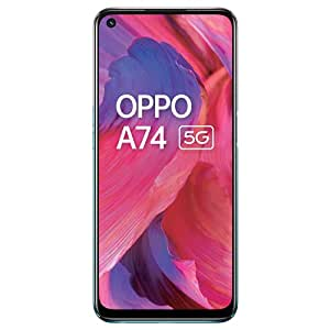 OPPO A74 5G (Fantastic Purple,6GB RAM,128GB Storage) - 5G Android Smartphone | 5000 mAh Battery | 18W Fast Charge | 90Hz LCD Display