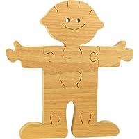 MUSIKID Puzzle bois 3D à peindre. Puzzle prince enfant 3D en bois 100% hêtre. Fabriqué en Europe