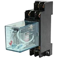 sourcingmap® JQX-13F 220/240AC Bobina DPDT 8 Pin Rele Elettromagnetico con