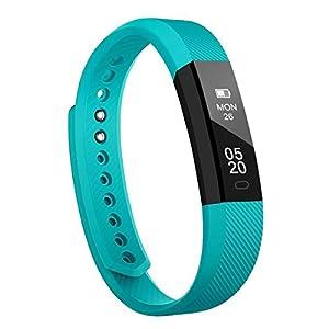 Fitness Tracker Pulsera Inteligente, RobotsDeal id115 Recordar de llamada con Bluetooth Remoto Disparador Automático Inteligente Reloj Podómetro Inalámbrico Actividad Tracker ( Verde)