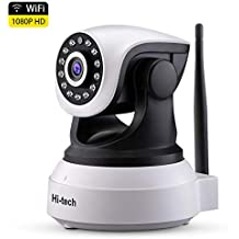 Cámara IP WiFi, Hi-tech Cámara de Vigilancia WiFi Interior Inalámbrica, HD1920 x1080p