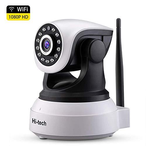 Cámara IP WiFi, Hi-tech Cámara de Vigilancia WiFi Interior Inalámbr