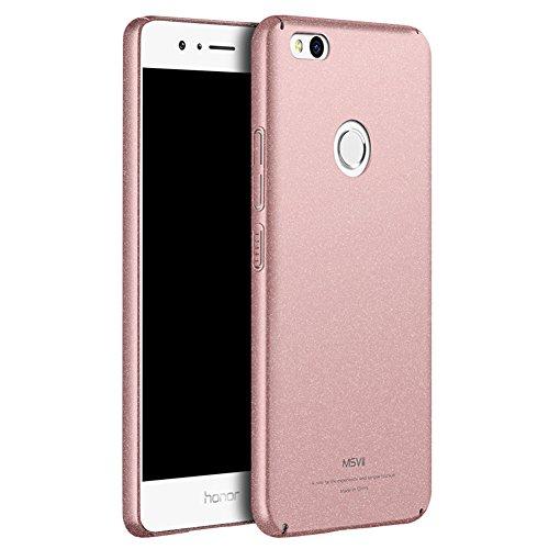 Huawei Nova Lite 5,2 Zoll Hülle, MSVII® PC Kunststoff Härte Hülle Schutzhülle Case Und Displayschutzfolie für Huawei Nova Lite 5,2 Zoll - Rose Gold JY30032 Rose Gold