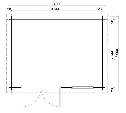 modernes-gartenhaus-emma-mit-flachdach-aus-fichten-holz-390-x-300cm-geraeteschuppen-fuer-den-garten-2