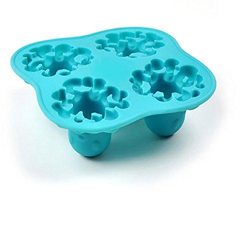 Eiswürfelbehälter, Chshe, Krakenform, Eiswürfel, Diy Form-Pudding, Diy Form Hauptbehälter, Weich, Sicher Und Gesund, Einfach Zu Säubern Und Beizubehalten