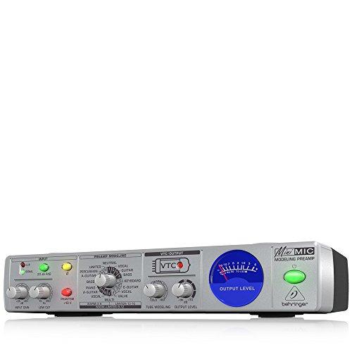 Preamplificatore Microfonico Behringer MINI MIC800 9,5' 16 Voicing Phantom