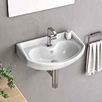 This is a Beautiful and durable, without tap wash basin, made of ceramic material.