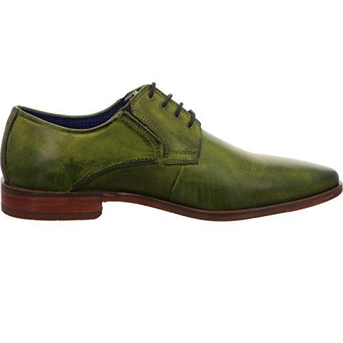 Bugatti 311147011100, Derby Chaussures Homme Vert