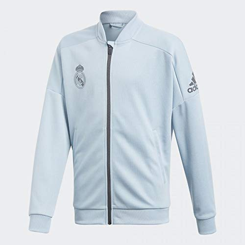 adidas Kinder Real Madrid Trainingsjacke, Ashgre, 164