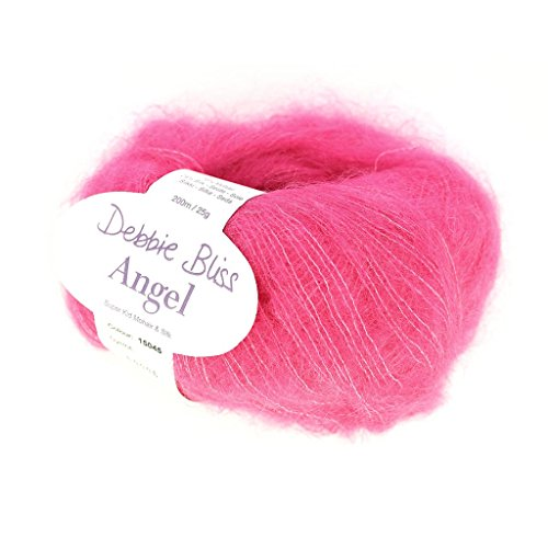 Wolle Debbie Bliss Angel Hot Pink (Farbe 45) x25g -