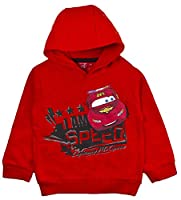 Disney Cars Hoodie Lightning McQueen Red Size 6 Years