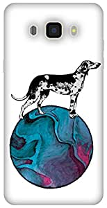 The Racoon Lean printed designer hard back mobile phone case cover for Samsung Galaxy J7 (2016). (A Dog&#x27)