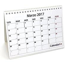 Calendari e articoli da scrivania cancelleria e prodotti per ufficio calendari da - Agenda da tavolo 2017 ...