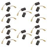 Sourcingmap a13101600ux0402-15 x 7,9 x 5 mm escobillas de carbón para motor eléctrico genérico 20 piezas