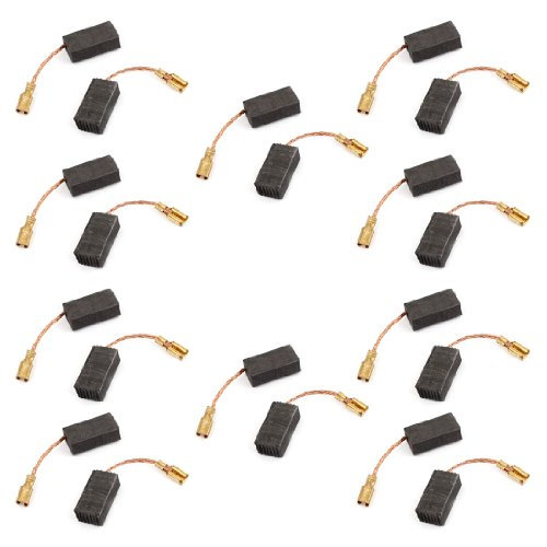 Sourcingmap a13101600ux0402   15 x 7,9 x 5 mm escobillas de carbón para motor eléctrico genérico 20 piezas