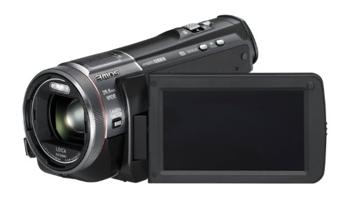 Panasonic HC-X909EG-K Full-HD Camcorder (8,8 cm (3,4 Zoll) Display, 12-fach opt. Zoom, 3MOS System Pro, Leica Objektiv, 29,8mm Weitwinkel, 3D-Option) schwarz - 3