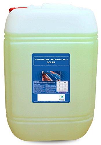 Líquido caloportador con base agua destilada, refrigerante, anticongelante e inhibidores, con una concentración del 50%. De color verde/rosa, no tóxico, densidad 1,080 gr./cm² a 20ºC y pH de 7,4. Protección de -35ºC a +150ºC. **** LISTO PARA USAR ***...
