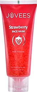 Jovees Strawberry Face Wash 120 ml