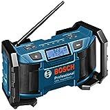 Bosch GML SoundBoxx Professional Black,Blue - radios (AM, FM, AC, 87.5 - 108 MHz, 531 - 1602 kHz)