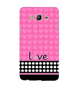 Love Girl 3D Hard Polycarbonate Designer Back Case Cover for Samsung Galaxy On5 :: Samsung Galaxy On 5 G550FY