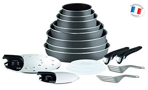Tefal Ingenio Essential - Set 8 piezas aluminio mango